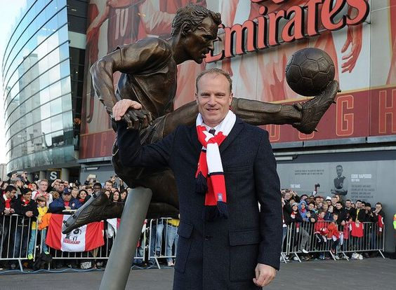 Dennis Bergkamp, the magnificent striker from Arsenal of old