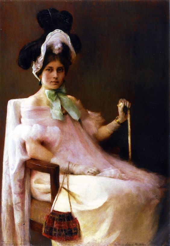 The 1830 Girl (also known as Portrait of Miss M.P. in Louis Philippe Costume)  Susan Watkins
