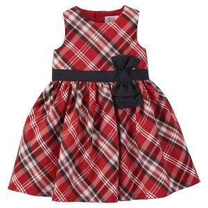 Just One You Newborn Girls' Sun Dress - Saturn Red