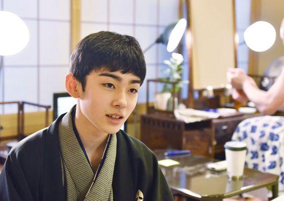 歌舞伎について語る八代目市川染五郎のかっこいい画像