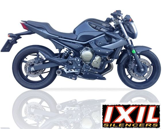 Yamaha XJ6 2009- IXIL SX1 Full Stainless Exhaust System