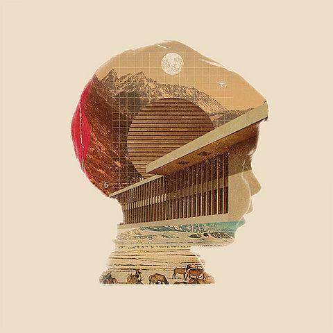 Collage Silhouette-so many ways to reinterpret