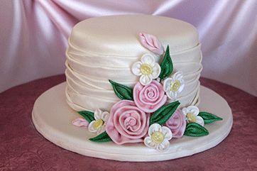 American cake, Ladies hats and Cake decorating magazine on ...