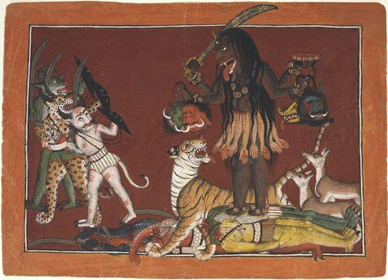 INDIA-40 and the CIRCLE OF DEMONS