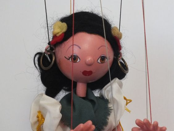 Check out this item in my Etsy shop https://www.etsy.com/listing/226843736/pelham-puppet-gypsy-1970s-string-puppet