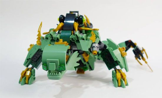 LEGO 70612 LEGO NINJAGO MOVIE DRAGO MECH NINJA VERDE