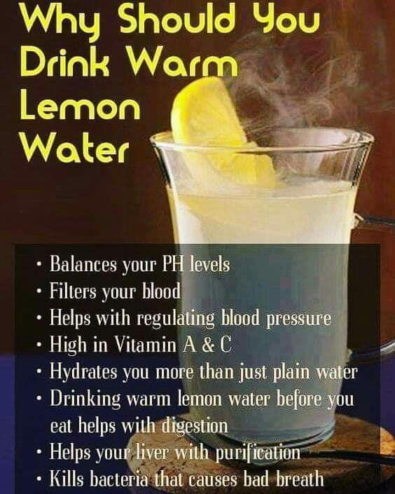 Pin by Big Buddy on useful tips | Drinking warm lemon water, Warm lemon  water, Healthy workout routine