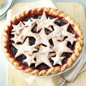 County Fair Cherry Pie Recipe from Taste of Home -- shared by Claudia Youmans of Virginia Beach, Virginia