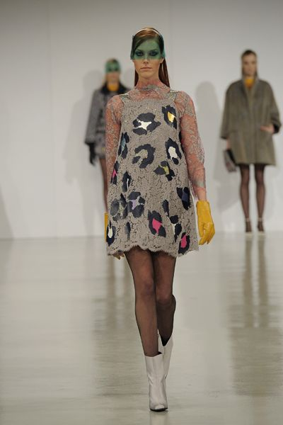 By Kathryn Hewitson from Northumbria University. Graduate Fashion Week 2013.
