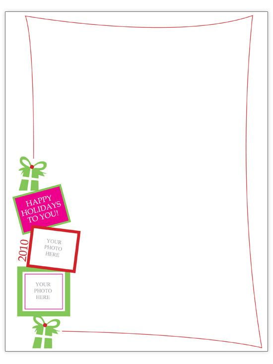 Free Christmas Letter Templates - free letters templates