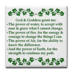 God and Goddess grant me the power of water - Google Search