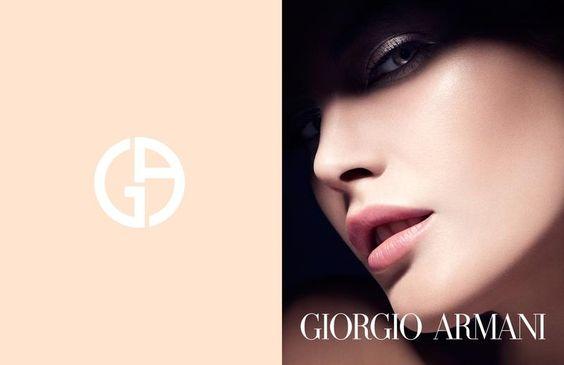 Catherine McNeil for Giorgio Armani Beauty