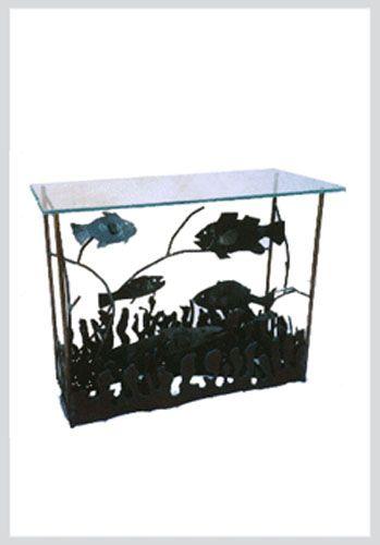 Guys tables and aquarium on pinterest for Aquarium cocktail table