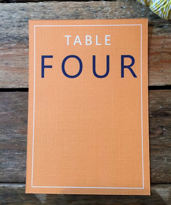RETRO Table Number, personalised, printable, downloadable, by AnnaVictoriaDesigns