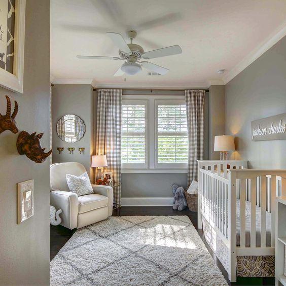 Gray Baby Nursery Nursery Baby Room Gray Gender Neutral Nursery Baby Room Design