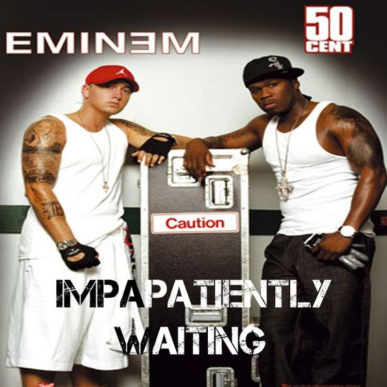 50 Cent, Eminem – Patiently Waiting (single cover art)