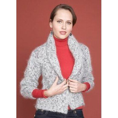 Shawl Collar Sweater in Lion Brand Moonlight Mohair - 60628. Discover more Patterns by Lion Brand at LoveKnitting. We stock patterns, yarn, needles and books from all of your favorite brands.