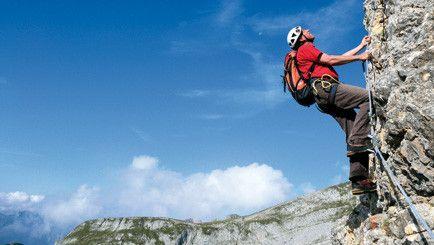 Alpine Ausbildung Klettersteig - Im Rofangebirge am Achensee - TUI, Bergsteigen, Österreich,