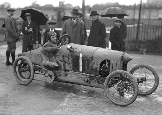 1913 Archie Frazer Nash In Gn At Brooklands Earliest