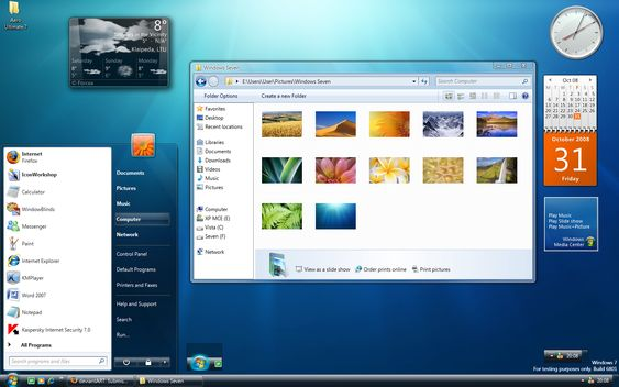 Windows 7 Ultimate Screenshots