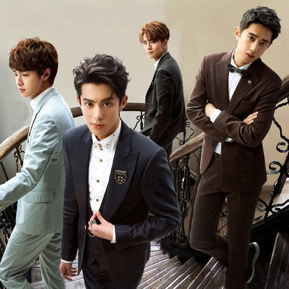Uploaded By Charlzen Find Images And Videos About Dylan Wang Darren Chen And Caesar Wu On We Heart It The Meteor Garden Meteor Garden 2018 F4 Meteor Garden