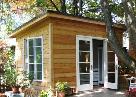 10 X 12 Urban Studio In Toronto Ontario Backyard Sheds Shed Design Backyard Storage Sheds