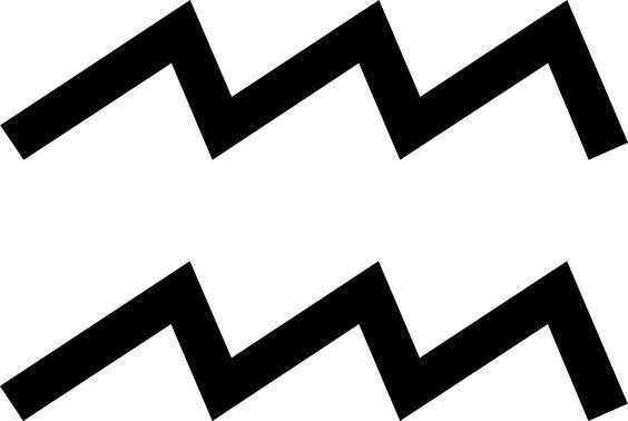 Símbolo de Acuario