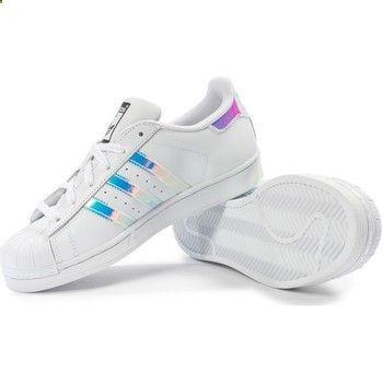 adidas Superstar J Junior Iridescent Hologram GS Aq6278 Boys