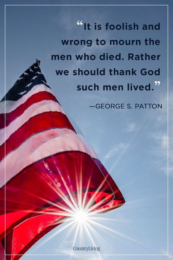 Share this Memorial Day quote with a veteran to thank them for their brave service.
