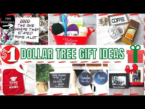 Unique Dollar Tree 1 Gift Ideas That Are Easy To Make And Look Beautiful Not Tacky Youtube Dollar Tree Gifts Christmas Gift Baskets Diy Dollar Tree
