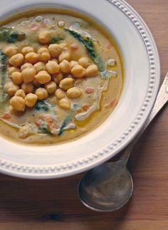 Garbanzos con verduras en HazteVegetariano.com
