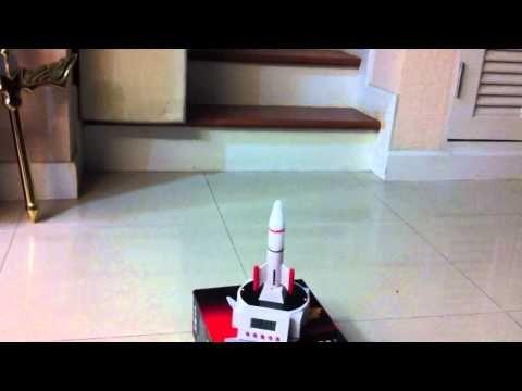 Rocket Alarm Clock นาฬิกาปลุก