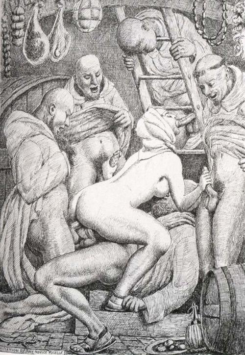 Порно групповуха средневековье, наши женщины ххх