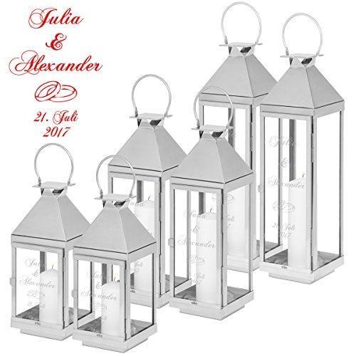 Marke Geschenke 24 Gmbh Farbe Ringe Eigenschaften Tolles Hochzeitsgeschenk Ein Stimmungsvolles Geschenk Zur Hochzeit Lantern Set Lanterns Wedding Bench