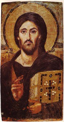 The oldest known image of Our Lord, guarded at an Orthodox monastery in the Sinai Desert, Egypt