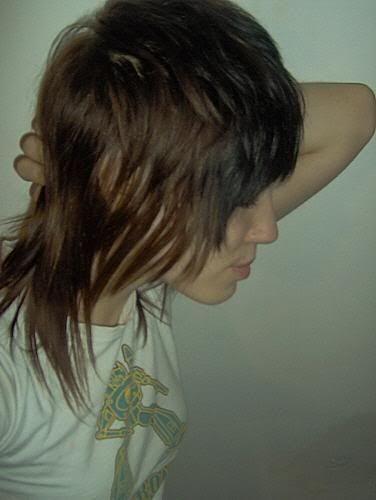 Cute shag haircut