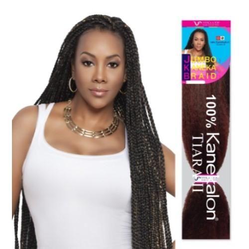 45 Jumbo Braid 100 Kanekalon Fiber Jkb V Crochet Braiding Hair By Vivica A Fox Braids For Short Hair Braided Hairstyles Short Hair Tutorial