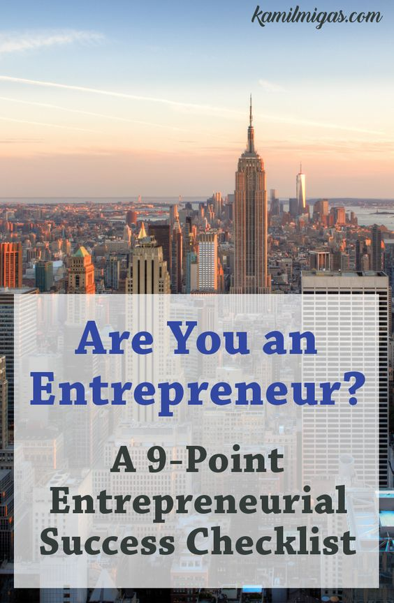 People donu0027t understand Your Entrepreneurial Journey? Do you - entrepreneurial success checklist