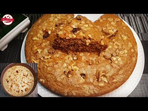 كيكة الشوفان الصحية بالتمر بدون سكر ولا دقيق لمرضى السكر والدايت وحساسية الغلوتين Youtube Diet Cake Food Desserts