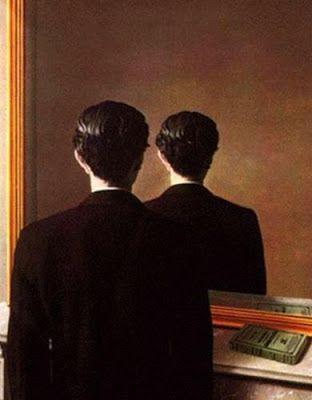 """""""Reproducción prohibida"""" (1937) By René Magritte"""
