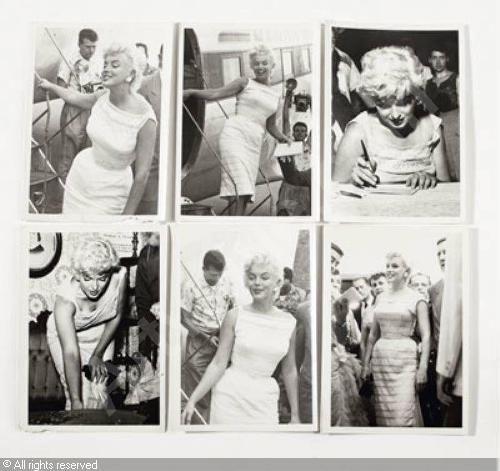 Marilyn in Bement, 1955. Photo by Jack MCCANN
