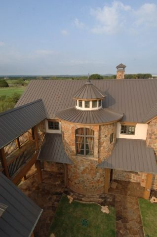 Best Mueller Metal Roof Color Burnished Slate Goes Well With 400 x 300