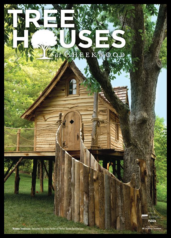 Tree-houses at Cheekwood! Opening this Saturday!