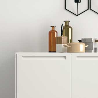 Cucina elegante in legno, Cucina moderna con isola