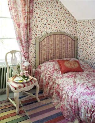 Romantiskt sovrum - Romantisk stil   Pinterest