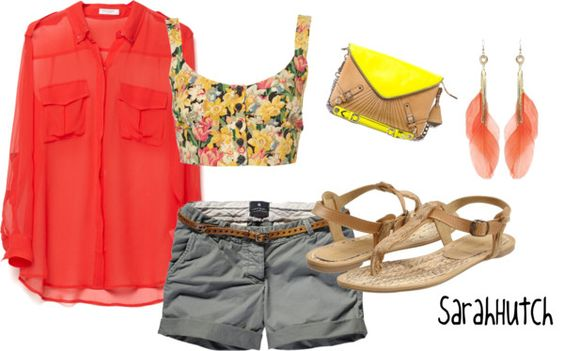 Sunshine (:, created by shutch1996 on Polyvore