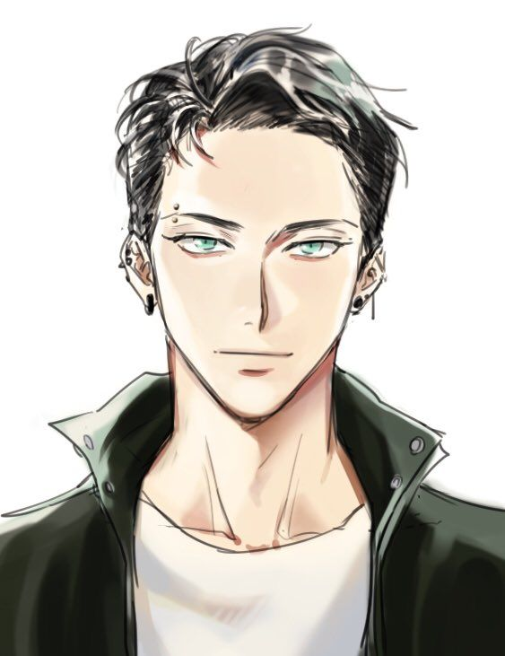 Handsome Anime Face : handsome, anime, コメツムリ, (@Cotton_Mellow), Twitter, Anime, Drawings, Handsome, Guys,