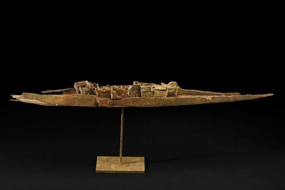 Guillaume Couffignal Barque, 2015 Bronze 40 x 14 x 4.5 inches 101.6 x 35.6 x 11.4 cm GCo 21