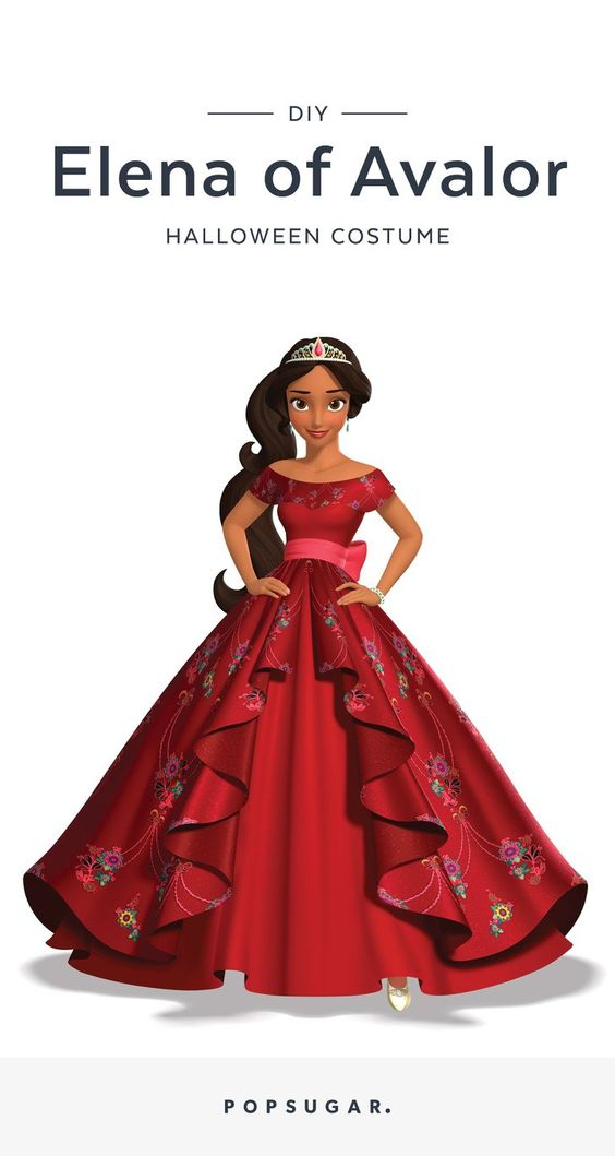 Pin for Later: How to DIY Your Own Princess Elena of Avalor Halloween Costume Pin it!