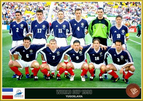 Fan Pictures 1998 Fifa World Cup France Yugoslavia Team Fifa World Cup France World Cup World Cup Teams